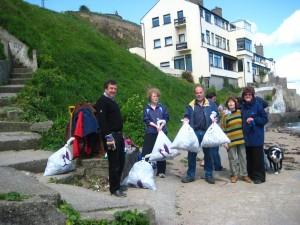 cleaning Balscadden Bay (FOBB)_1201